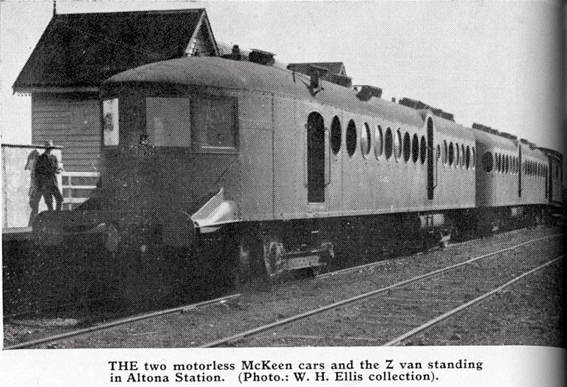 Mckeen Railmotors
